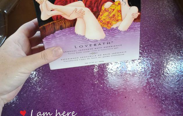 Test du Lovebath de Shunga