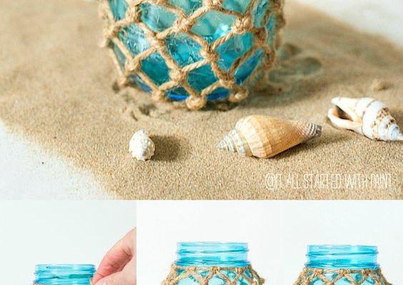 DIY Recyclage des pots en verre (4)