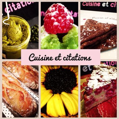 Nathalie - Cuisine et citations