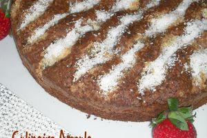 Gâteau exotique aux fruits