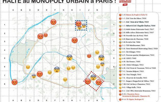 """Un texte qui va mettre un peu de piment dans la campagne parisienne des municipales: """"Halte au Monopoly, Paris n'est pas à vendre"""" »"""