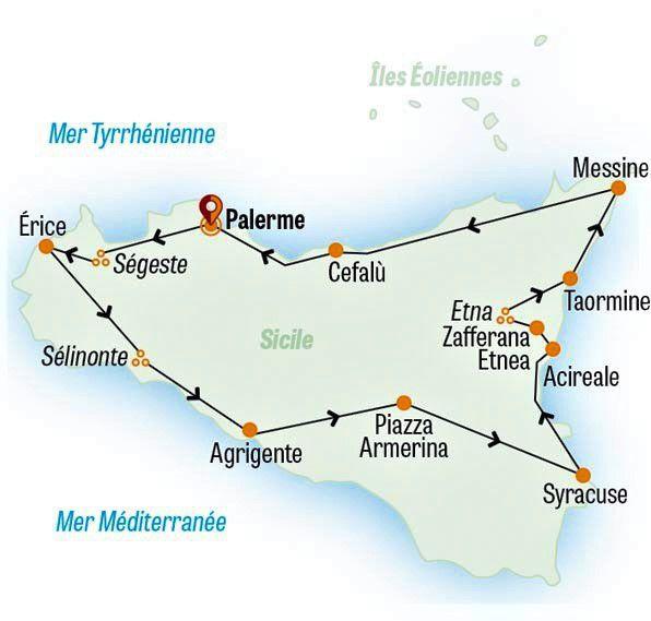 Sicile - Le grand tour