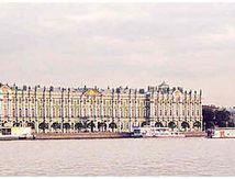 L'Ermitage, la Neva,