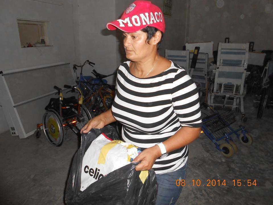Réception à Gabes le 08/10/2014 du matériel expédié de France le 02/08/2014 (envoi no 8)