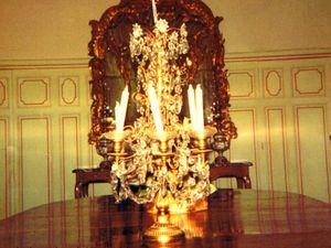 La salle à manger du château de 1941 à 1996