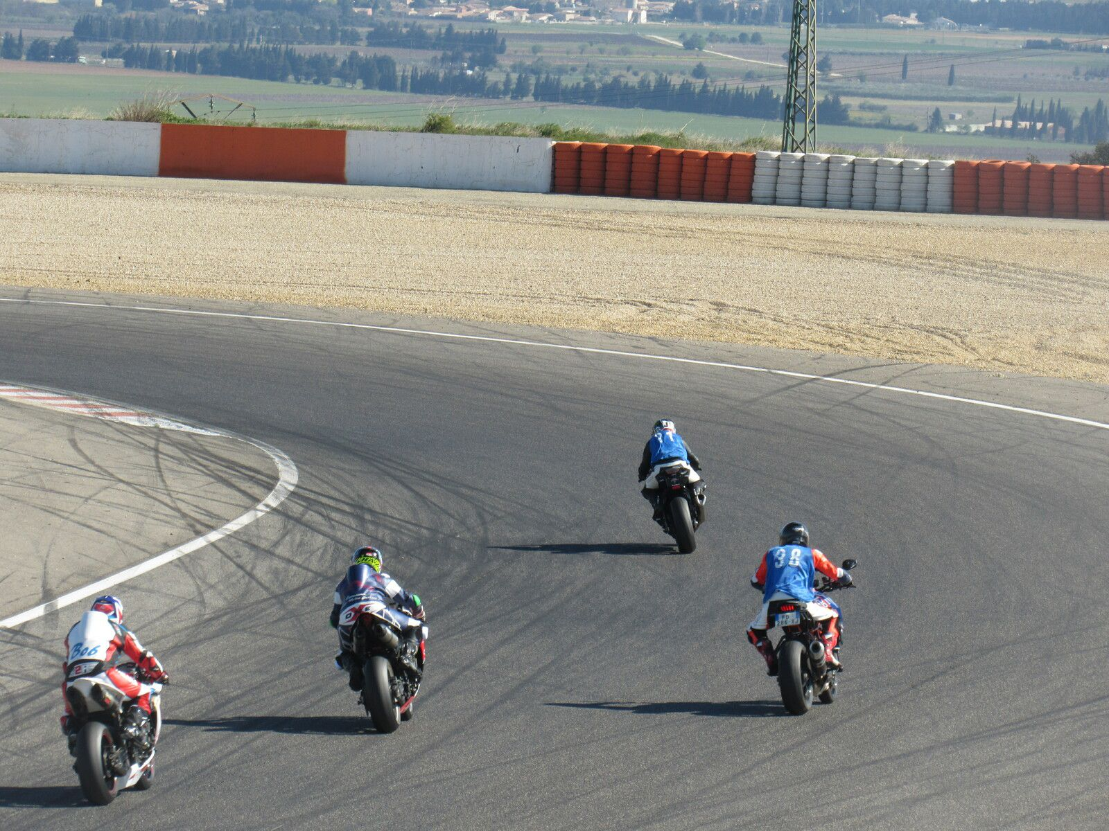 2nd journée et dernière pour moi au circuit de L2N pour roulages privés motos avec 4G