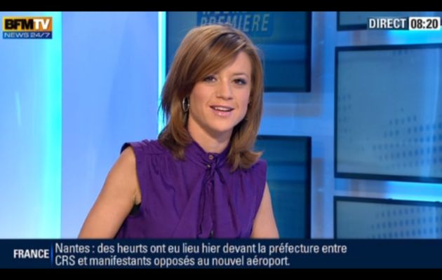 [2012 11 25] CELINE PITELET - BFM TV - WEEK-END PREMIERE @08H00