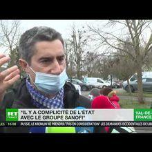 Les salariés de Sanofi de Val-de-Reuil en grève contre la suppression de 400 emplois! En pleine crise sanitaire, c'est un vrai scandale d'État qui se joue là!