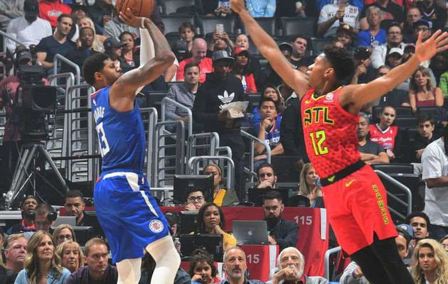Paul George et les Clippers font couler les Hawks (+49 points)