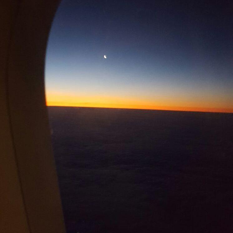À l'aube du vendredi 27 janvier 2017 (à Friedrichshagen & Ostkreuz) et dans un avion au-dessus de l'Allemagne, le mercredi 25 janvier 2017.