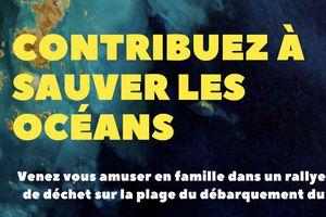 le 13 Aout : Opération ramassage de déchets plage du Dramont