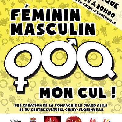 'Féminin, masculin, mon cul !' - Lecture vivante