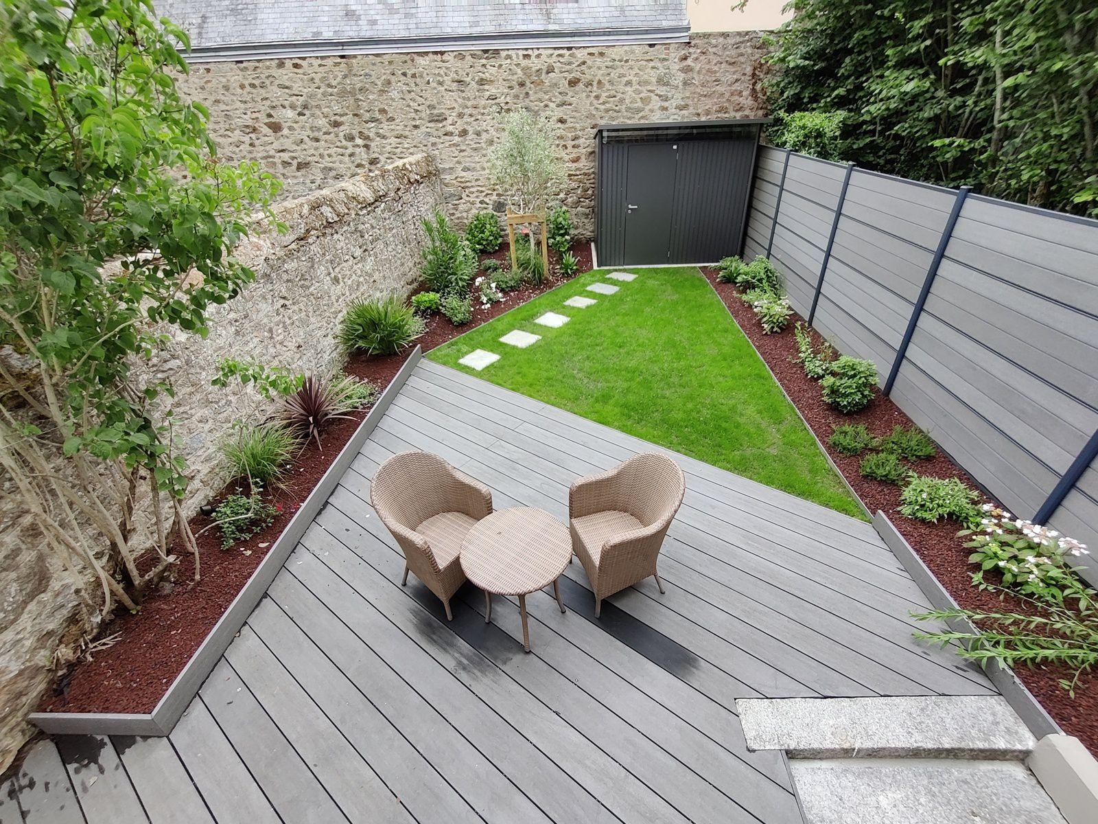 Aménagement d'un jardin de ville