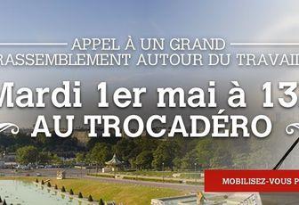 Nicolas SARKOZY au Trocadéro: inscrivez-vous sur la 16ème!