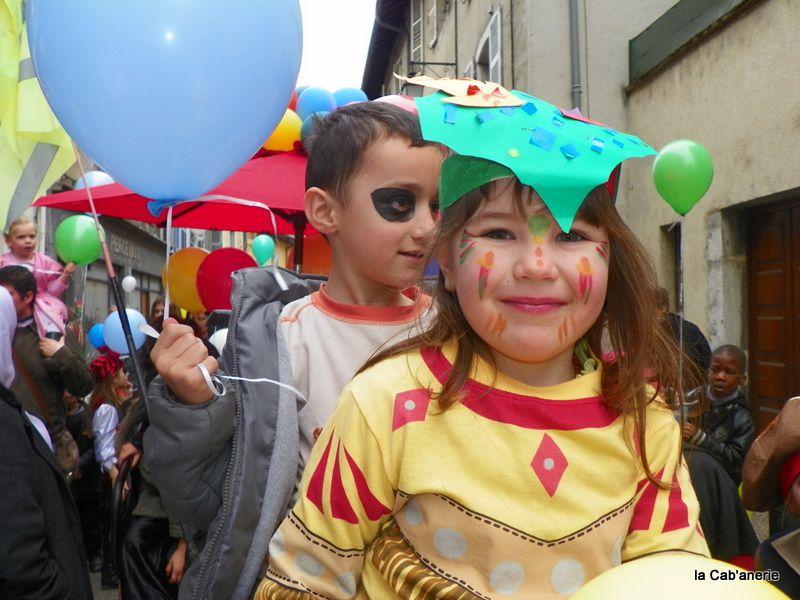 Carnaval du sou des écoles. Fête de fin d'année du sou des écoles.