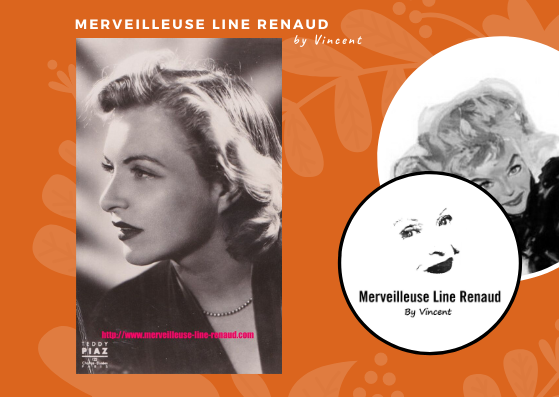 CARTE POSTALE: Line Renaud part Teddy PIAZ