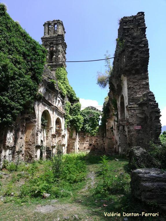 Ruines du couvent St-François d'Orezza et l'Eglise de la Porta