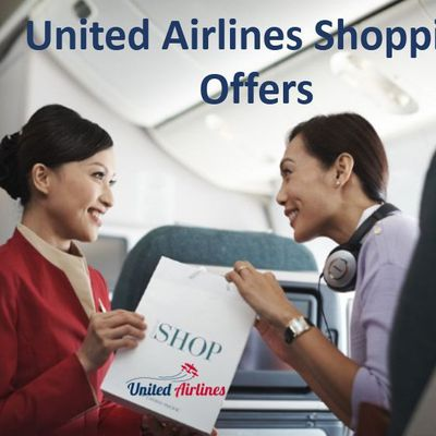 United MileagePlus program & Shopping Offers with United Airlines