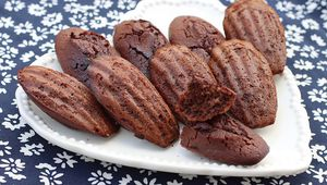 Madeleines au chocolat de Sophie Dudemaine