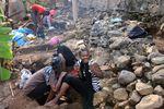 Chantier archéologique à Acoua, septembre 2011