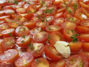 Tomates cerises confites - Angel's Kitchen