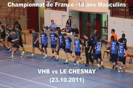 VHB vs LE CHESNAY (-18M1 Championnat de France 23.10.2011)