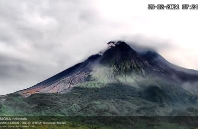Activité du Merapi, du Taal, du Pacaya, et essaim sismique dans la péninsule de Reykjanes.