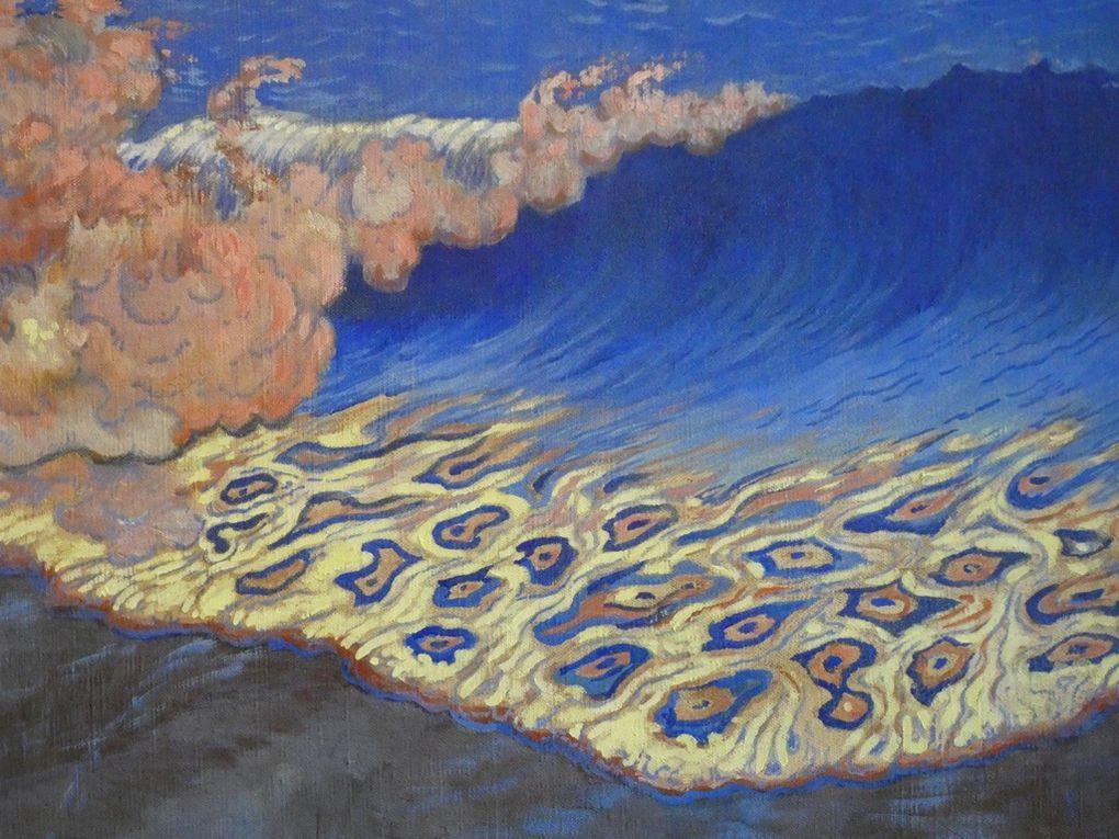 Marine bleue - effet de vagues - Georges Lacombe