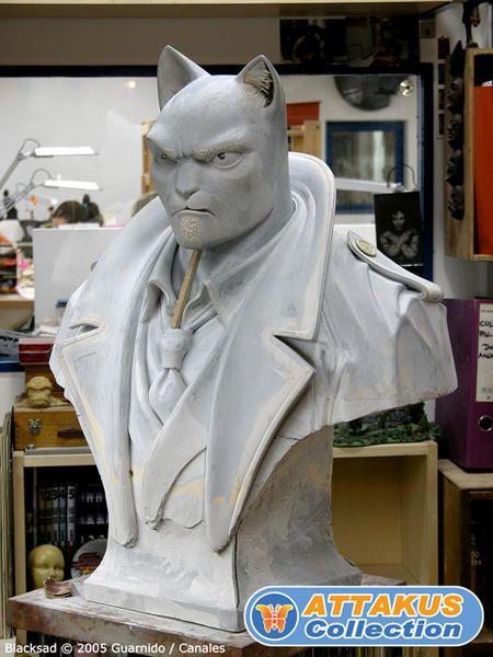 Buste BLACKSAD (Juanjo Guarnido) Attakus Collection