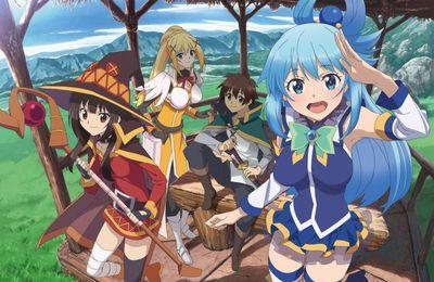 Un nouvel anime KONOSUBA -God's blessing on this wonderful world! ! a été annoncé en visuel