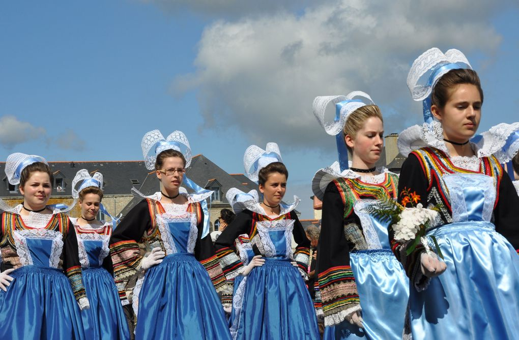 La fête des Brodeuses à Pont-l'Abbé, le dimanche 10 juillet 2011.