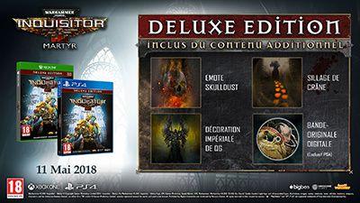 De nombreux autres bonus digitaux seront disponibles pour ceux qui commanderont les éditions Deluxe ou Imperium :