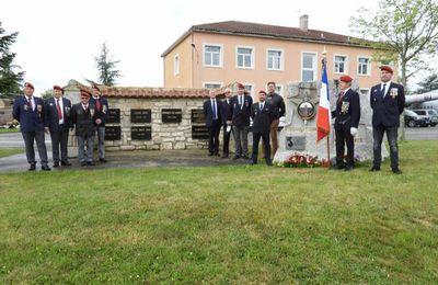 Mont-de-Marsan : ils ont célébré l'anniversaire du 6e régiment de parachutistes d'infanterie de marine