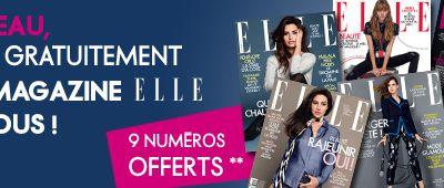 Bons Plans ❤ Magazines ELLE gratuit !