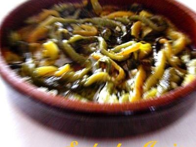 La Salade Juive ou les poivrons marinés
