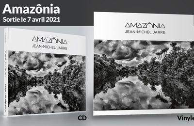 Nouvel album studio de Jean-Michel Jarre: Amazônia, sortie le 7 avril 2021