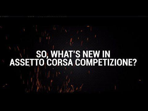 [ACTUALITE] Assetto Corsa Competizione - La mise à jour gratuite et le projet esport McLaren Shadow en vidéo