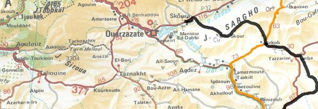 Voyage au Maroc: Skoura - Zagora