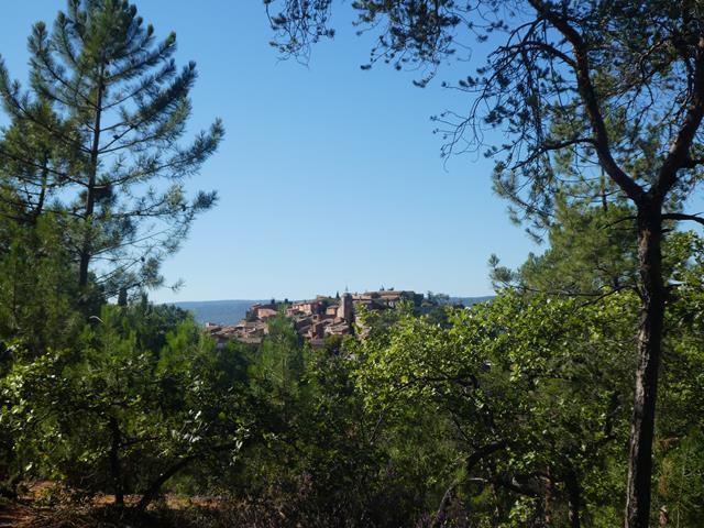 Le sentier des ocres à Roussillon