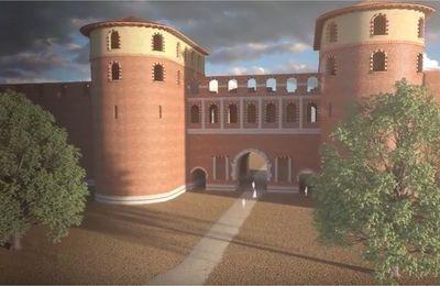 Tolosa (Toulouse) au temps des romains, dans l'antiquité