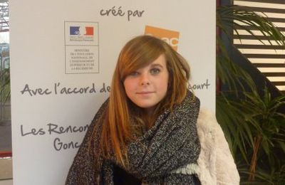 Lucile, élève de Première L primée à Rennes !