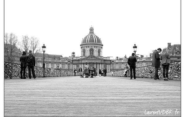 Paris : Le pont des Arts