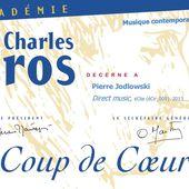 Pierre Jodlowski, Direct music. Coup de Cœur de l'Académie Charles Cros - Musiques contemporaines XX & XXI