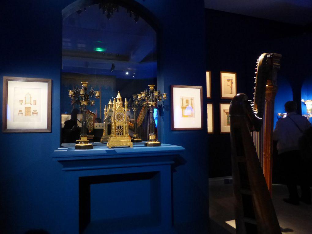 Salle des arts décoratifs, exposition Cathédrales 1789-1914. Un mythe moderne © Photographies Gilles Kraemer, visite presse, musée des Beaux-Arts, Rouen, 2014