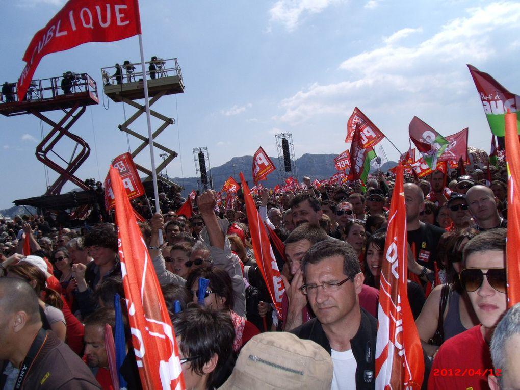 Marseille Le Prado - Pour la 6ème République - avril 2012