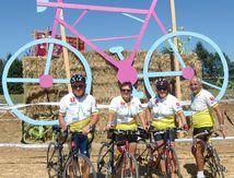 Raymond, Arlette, Jean Claude et Martine à la semaine fédérale