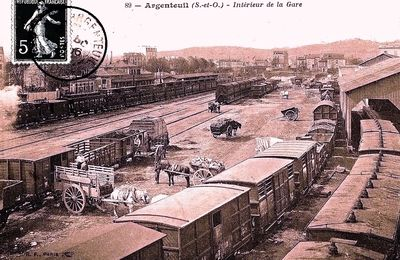 Argenteuil intérieur de la gare (3)