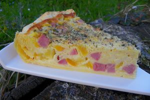 QUICHE AUX PATISSONS