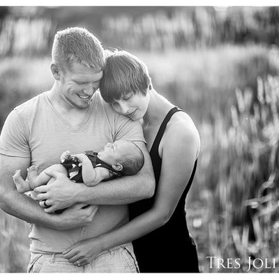 McKey Sullivan (America Next Top Model) and Sam Alvey: their new baby