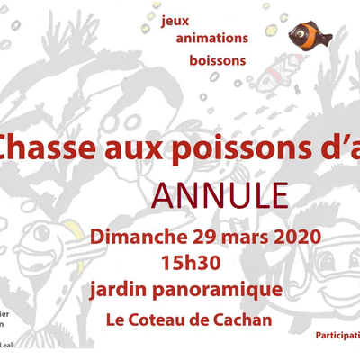 Chasse aux poissons 2020